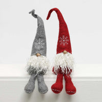 Schnitzel Gnome with Snowflake Hat