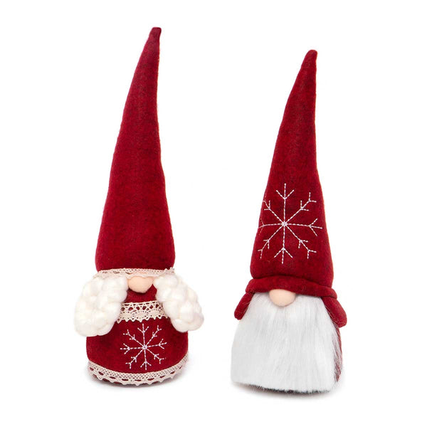 RED SWEDISH COUPLE GNOME