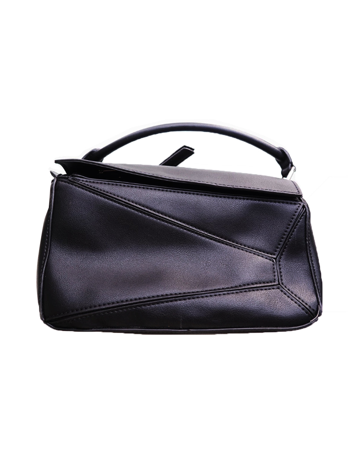 A NYC MOMENT BLACK SHOULDER BAG