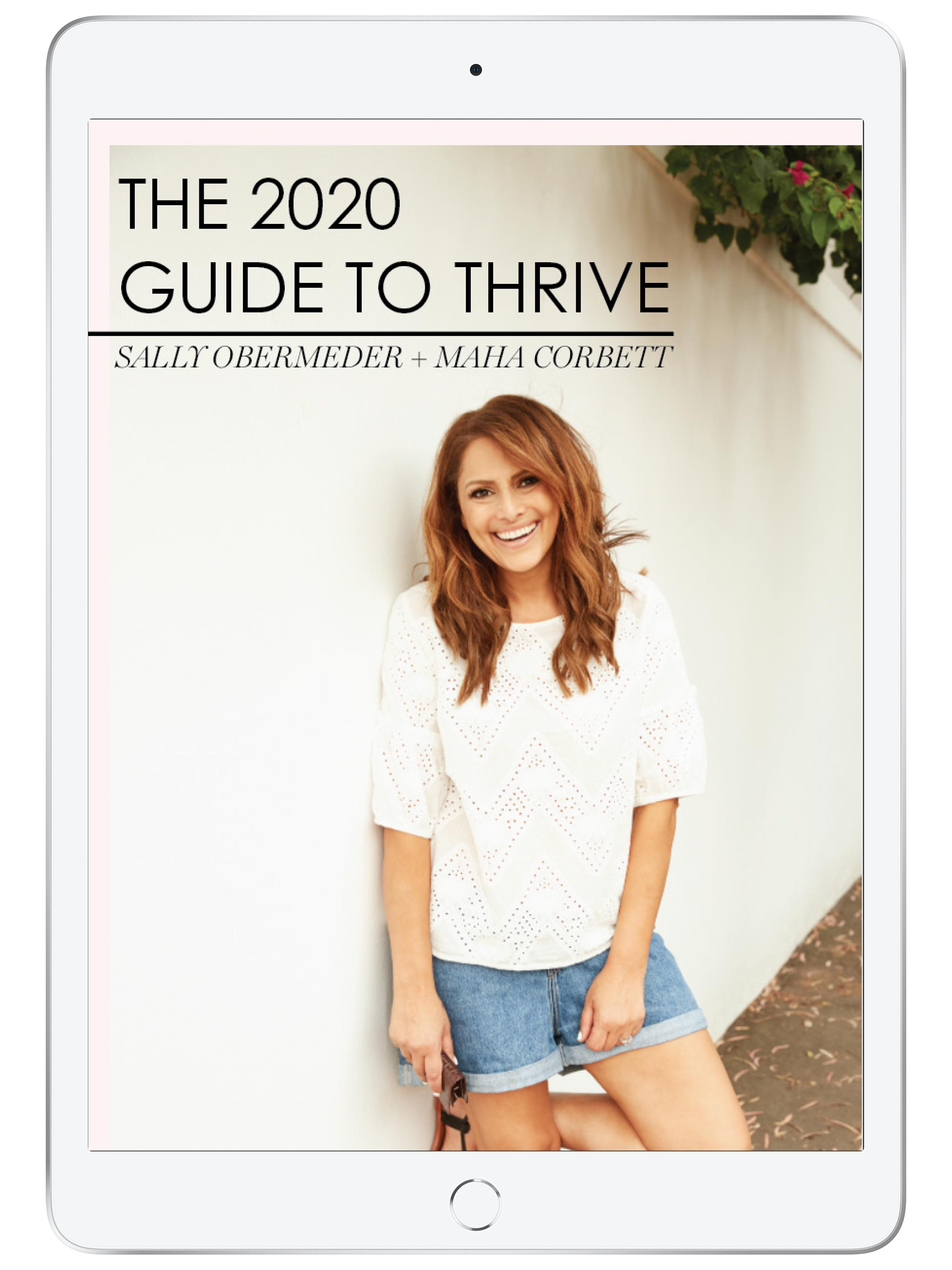 THE 2020 GUIDE TO THRIVE (E-BOOK)
