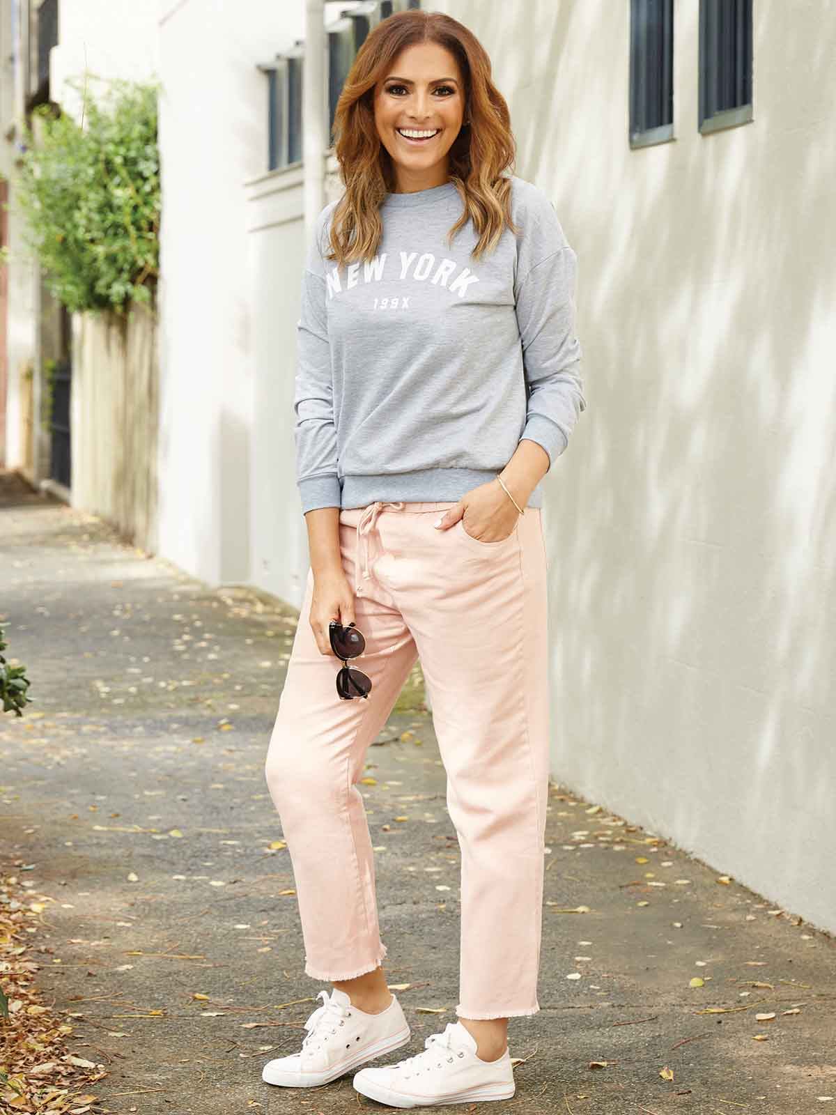 WORDS OF LOVE PINK PANT