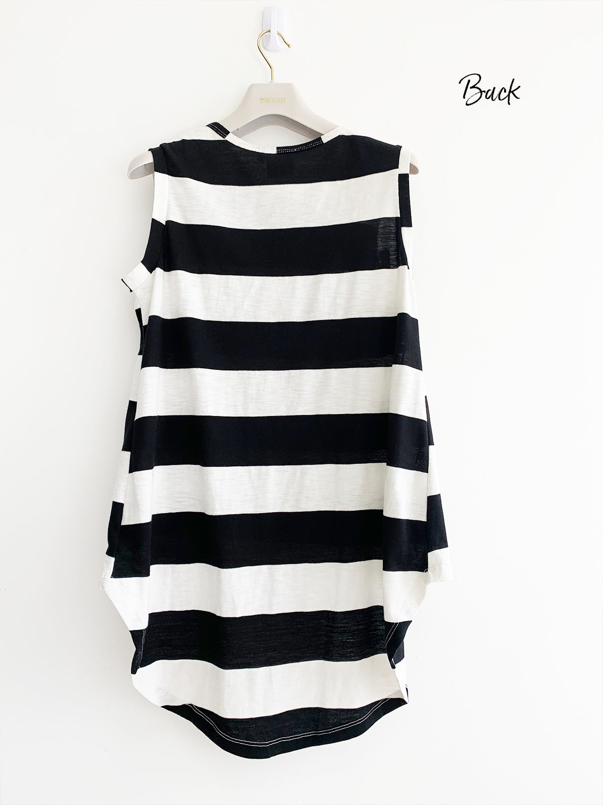 FOREVER SUNSETS STRIPED TOP