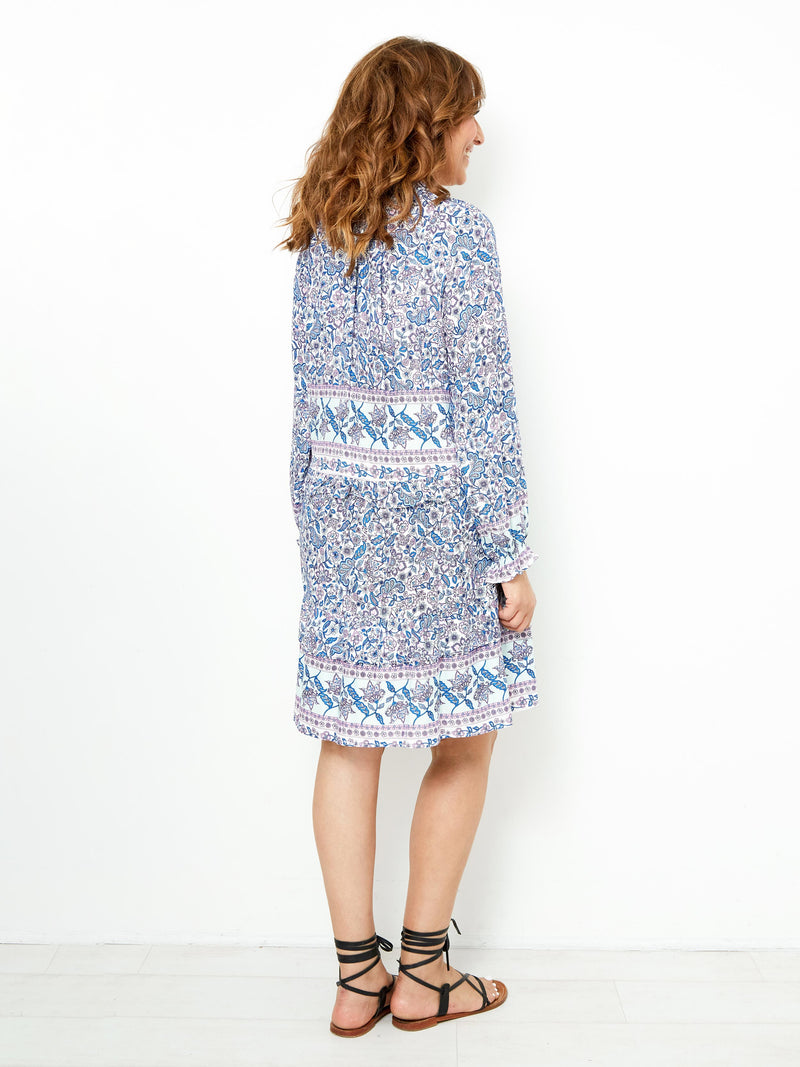 A BEAUTIFUL VOYAGE FLORAL DRESS