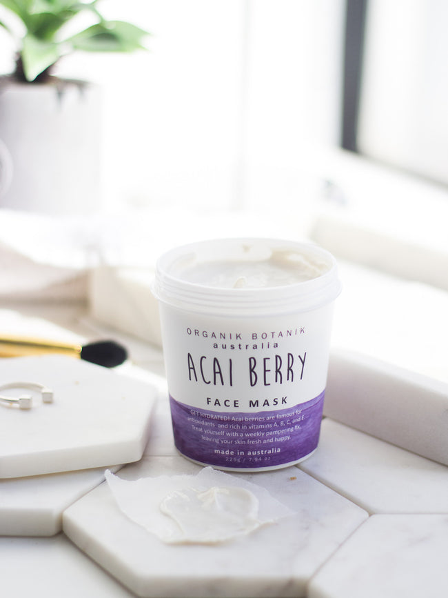 ACAI BERRY FACE MASK