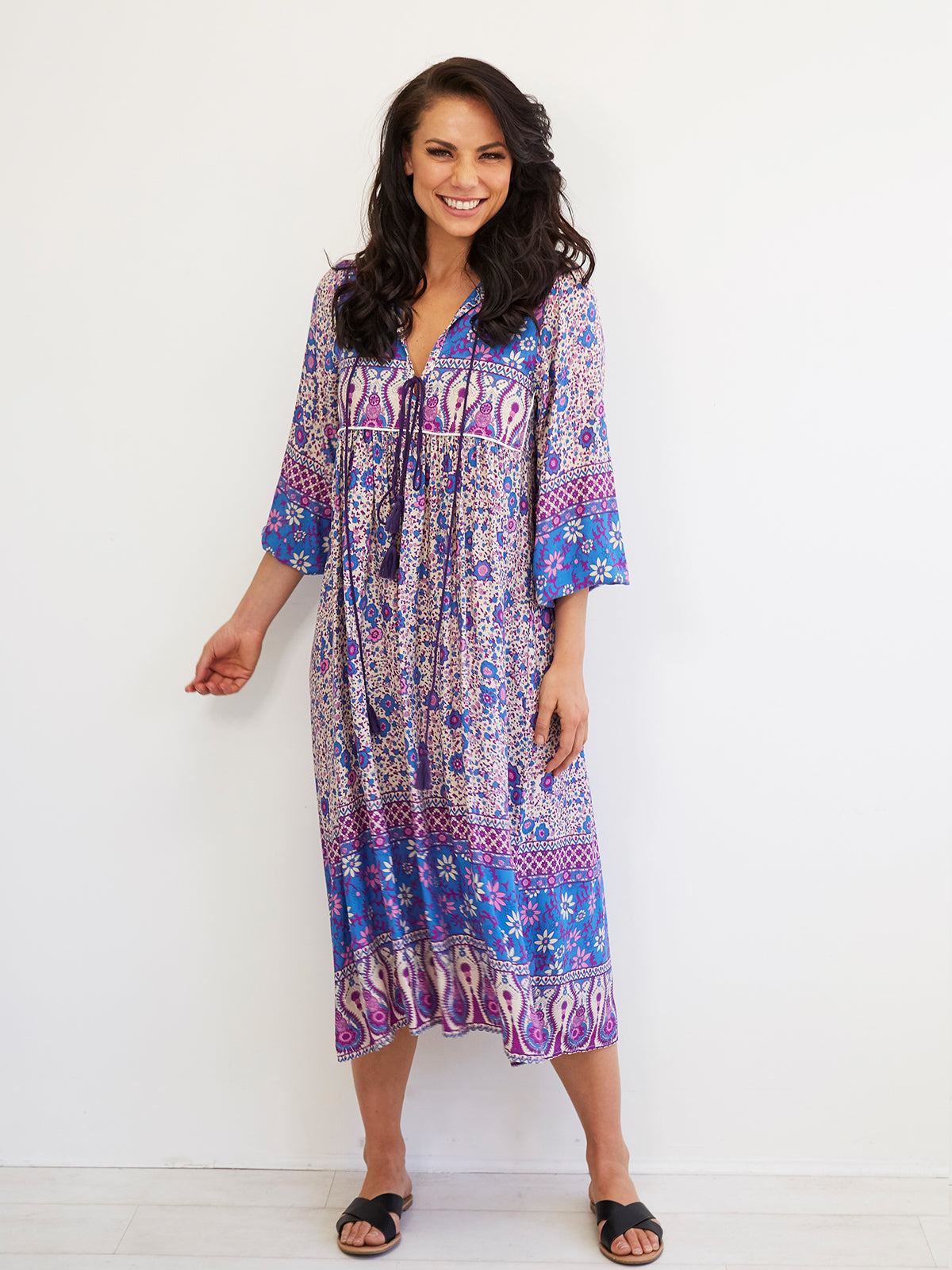 CALI DREAMING BOHO DRESS
