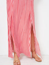 A LOVE STORY TO REMEMBER STRIPED SKIRT
