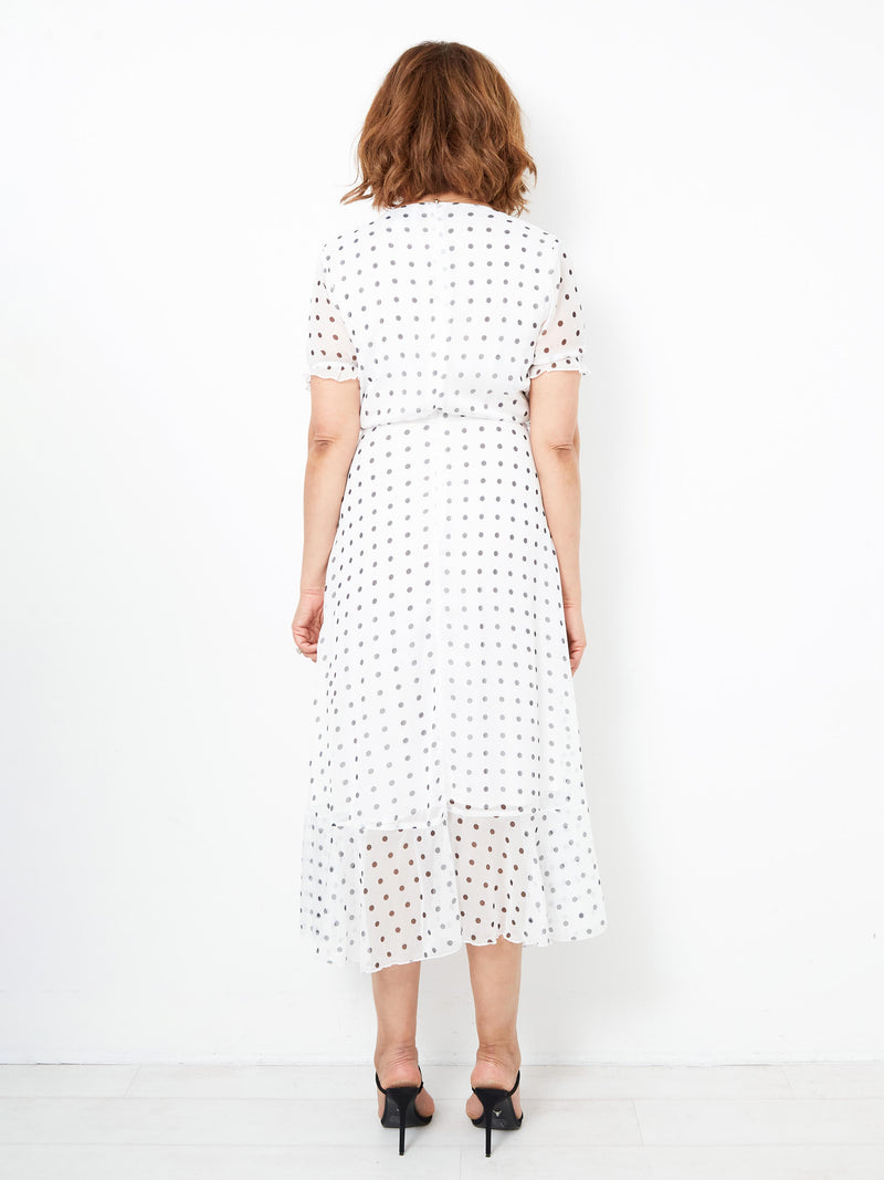 A SPRINGTIME AFFAIR WHITE DRESS
