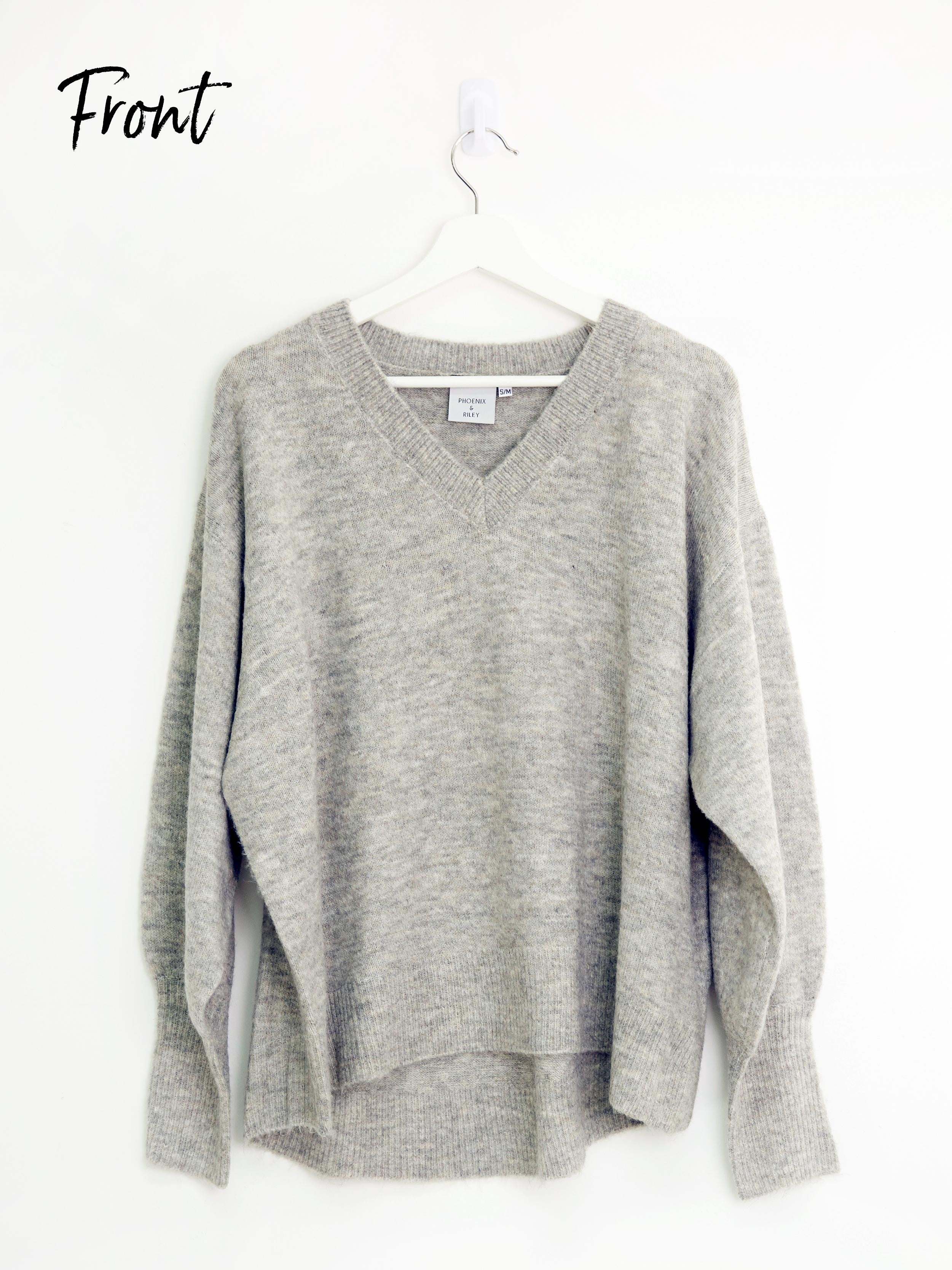 A TOUCH OF CLASS GREY KNIT