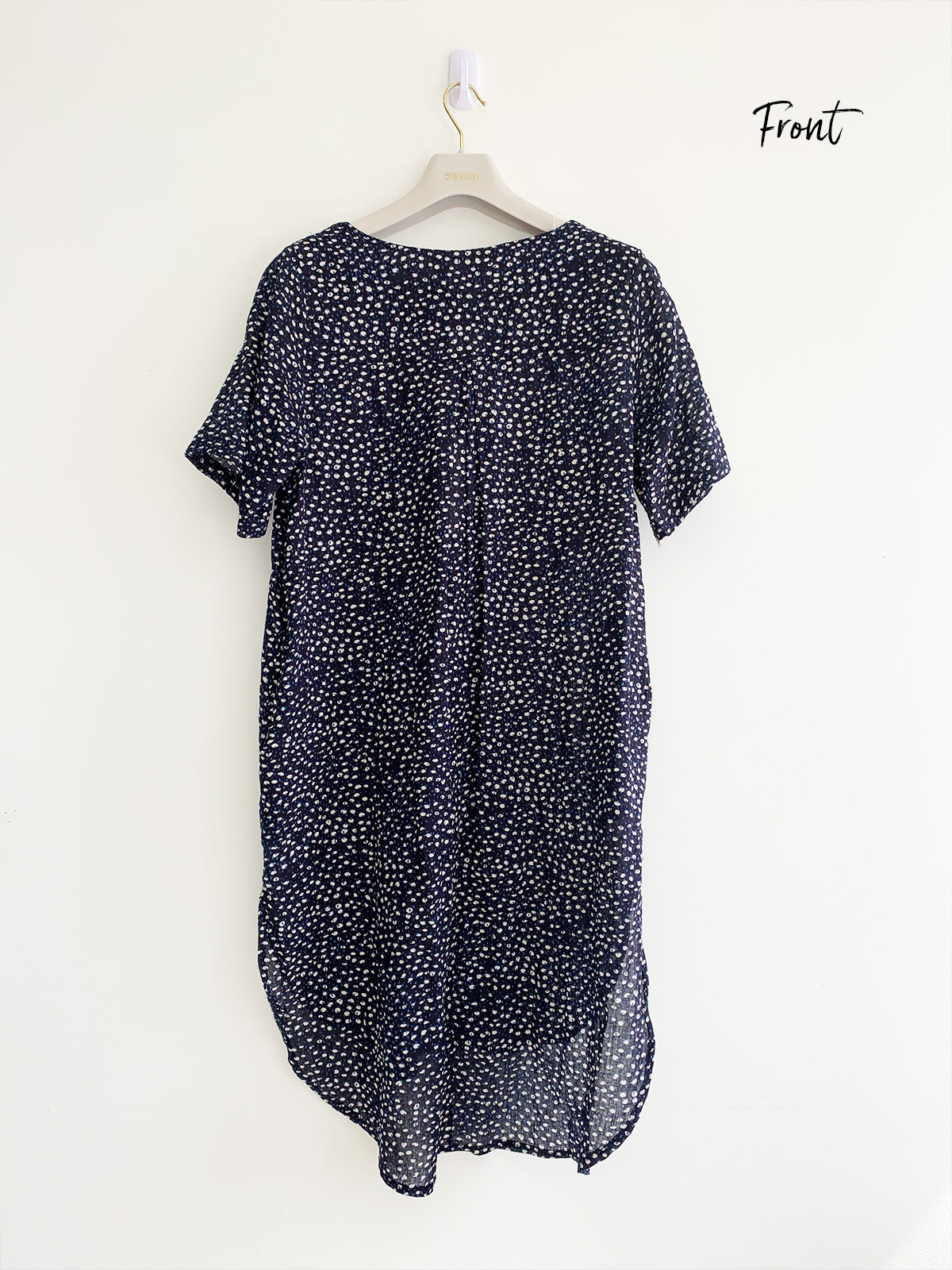 FRENCH ALLURE NAVY DRESS