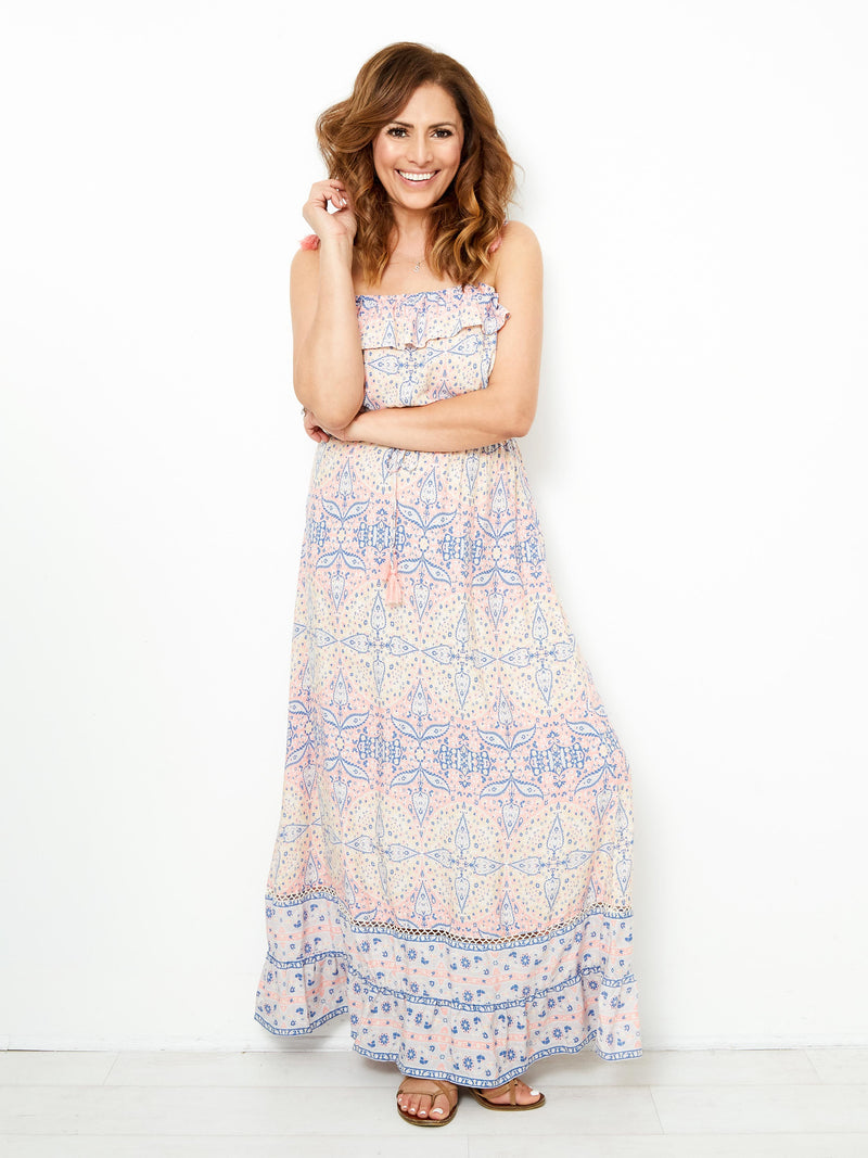 ANGELIC MOMENT MAXI DRESS