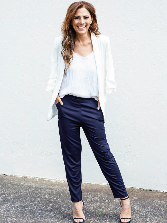 IN THE NAVY TAILORED PANTS