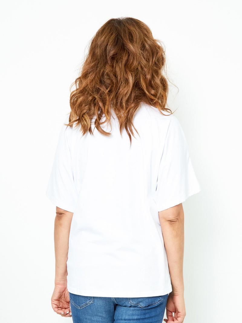 BEAUTIFUL DREAMER WHITE TEE
