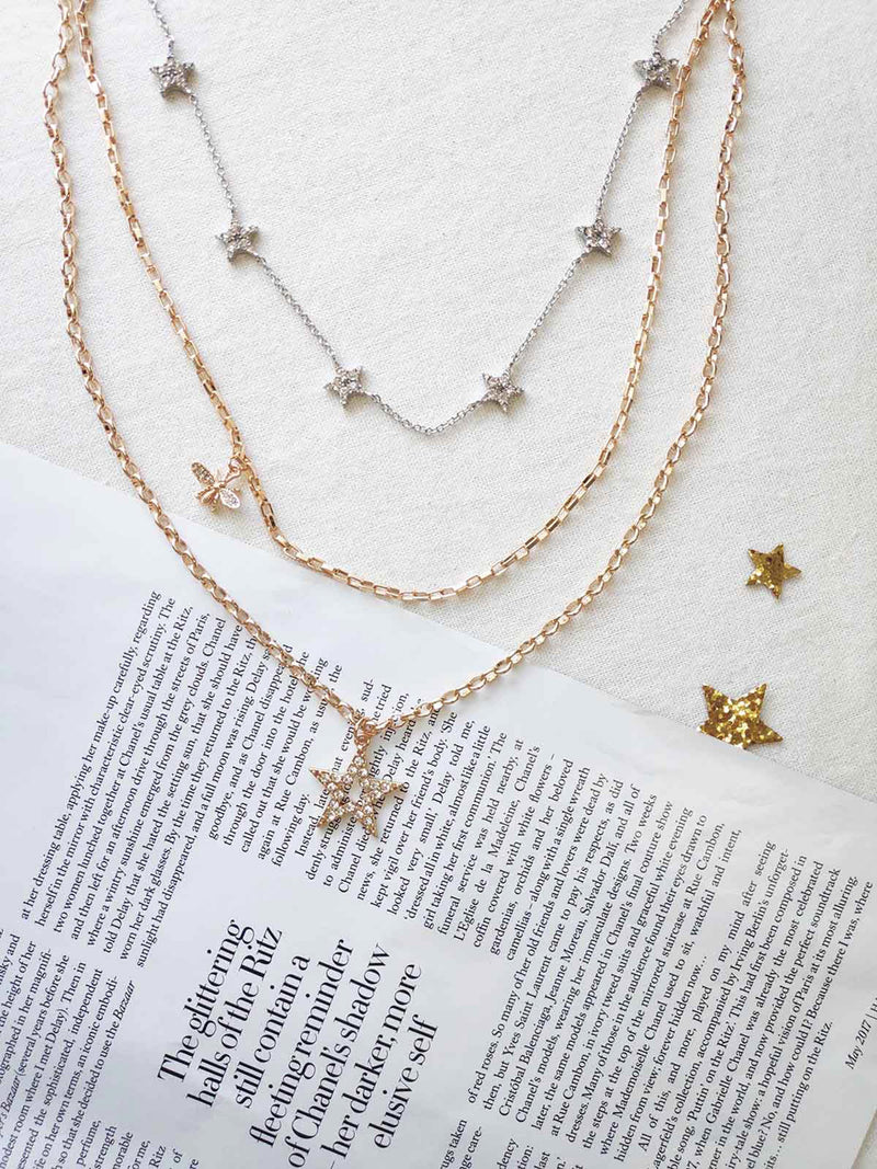 BEE A STAR NECKLACE