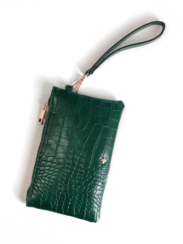 BELLA WRISTLET IN GREEN
