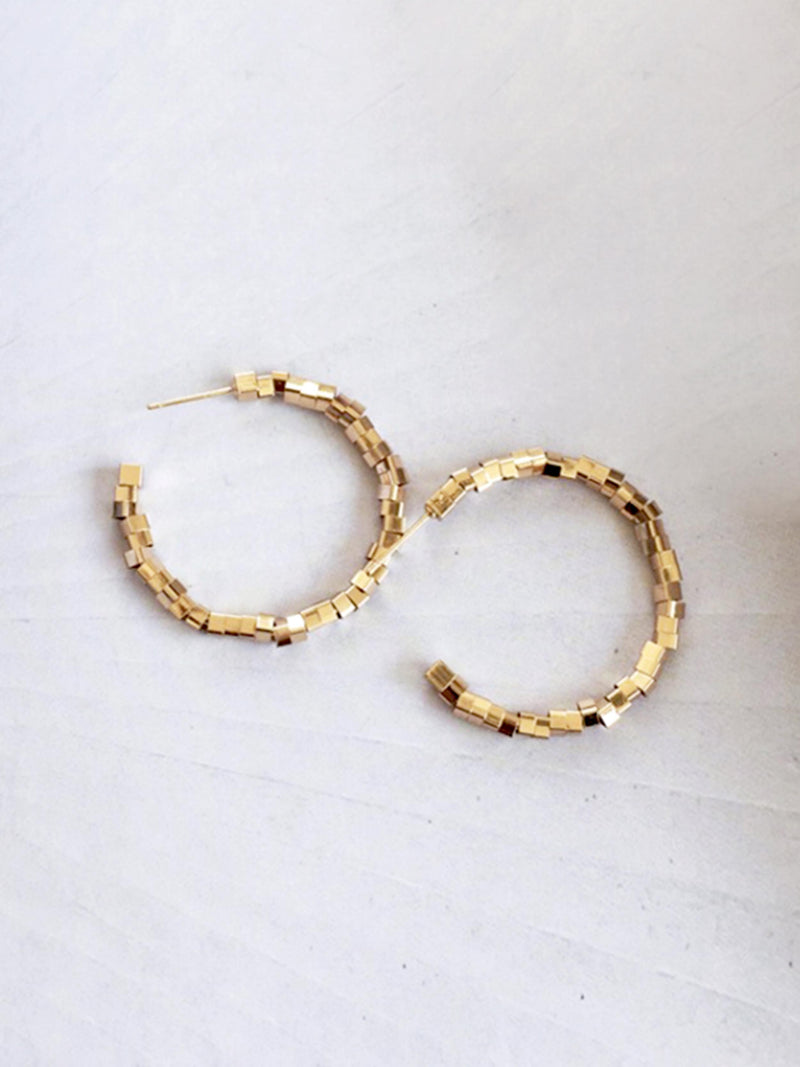 DANCE WITH ME HOOP EARRINGS