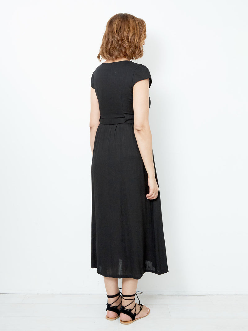 DIVINE DREAM BLACK DRESS