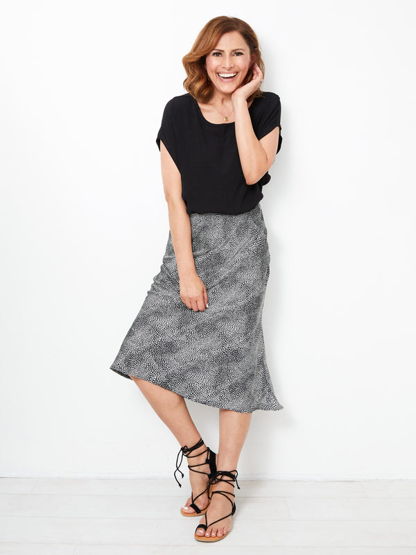 DREAM CITY PRINTED SKIRT