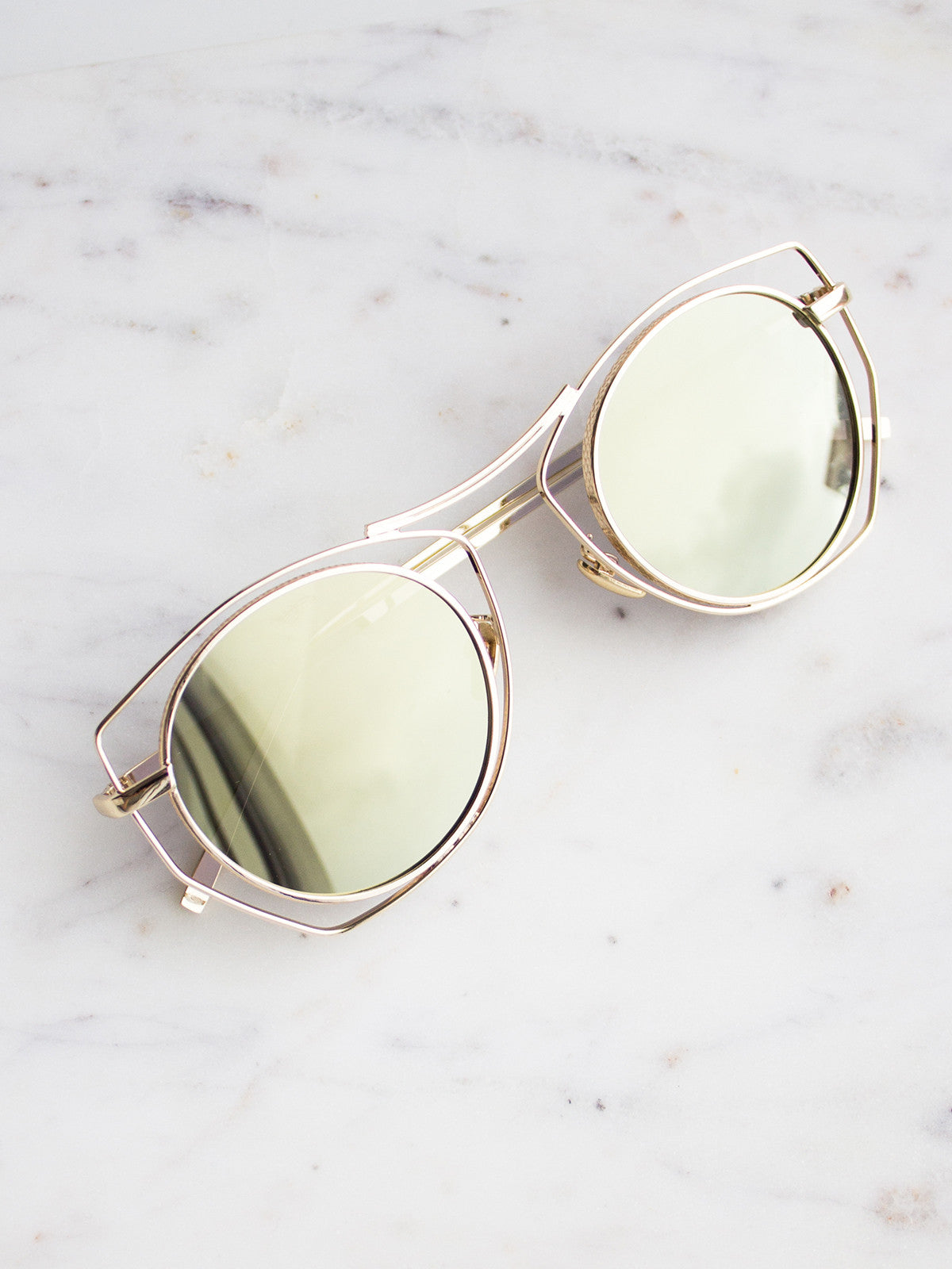 FIREBIRD GOLD SUNGLASSES