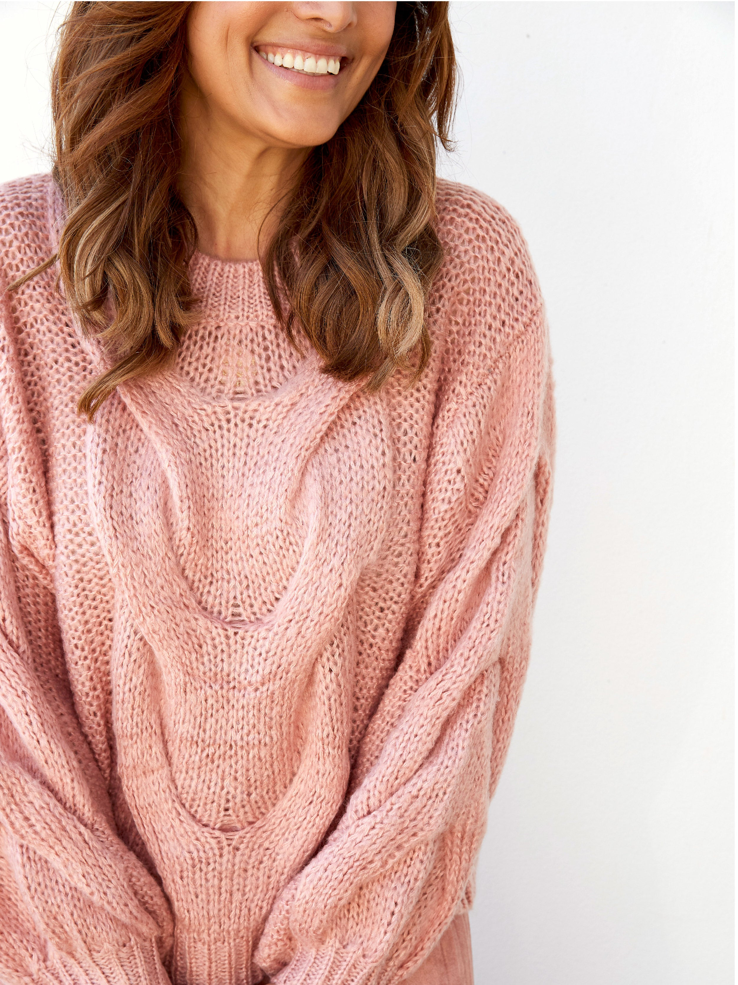 FOREVER A DREAMER PINK KNIT