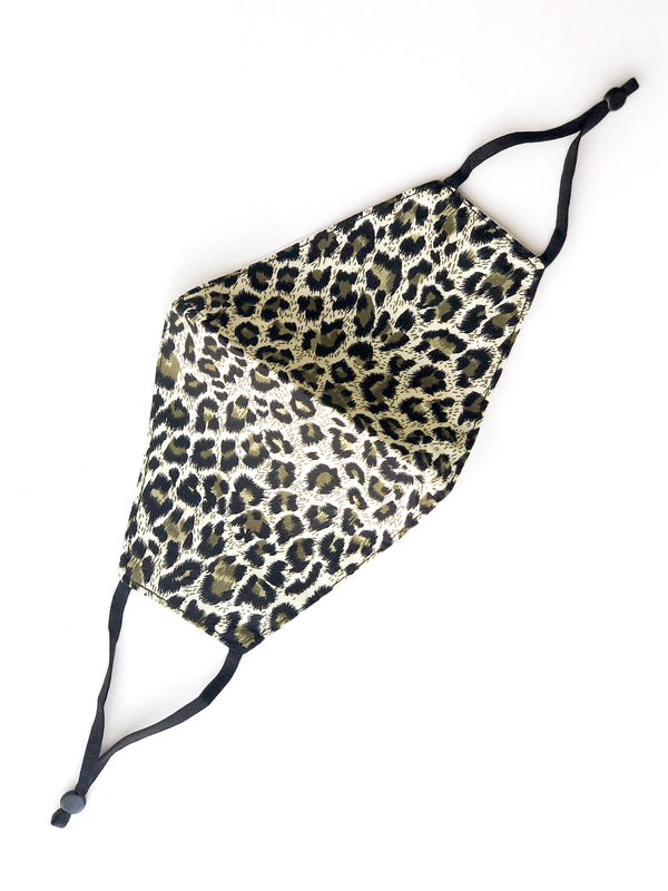 FACE MASK - LIGHT LEOPARD