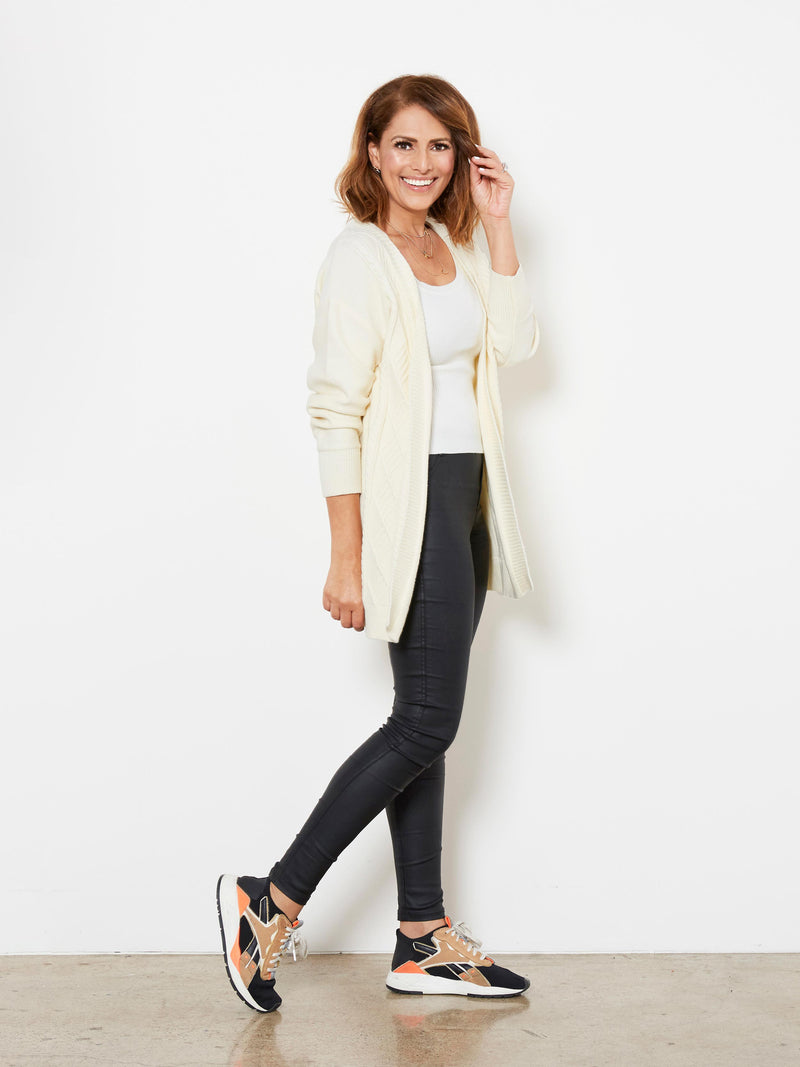 FOREVER ON MY MIND CREAM CARDIGAN