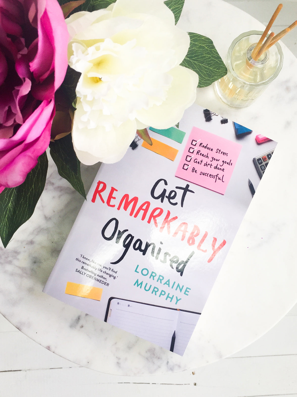 GET REMARKABLY ORGANISED BOOK