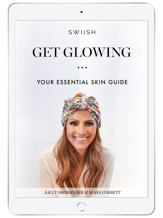 GET GLOWING – YOUR ESSENTIAL SKIN GUIDE E-BOOK