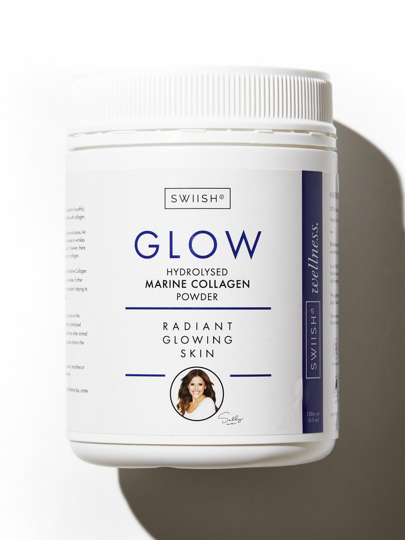 GLOW MARINE HYDROLYSED COLLAGEN POWDER