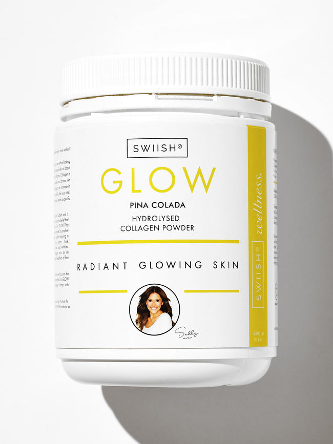 GLOW PINA COLADA HYDROLYSED COLLAGEN POWDER