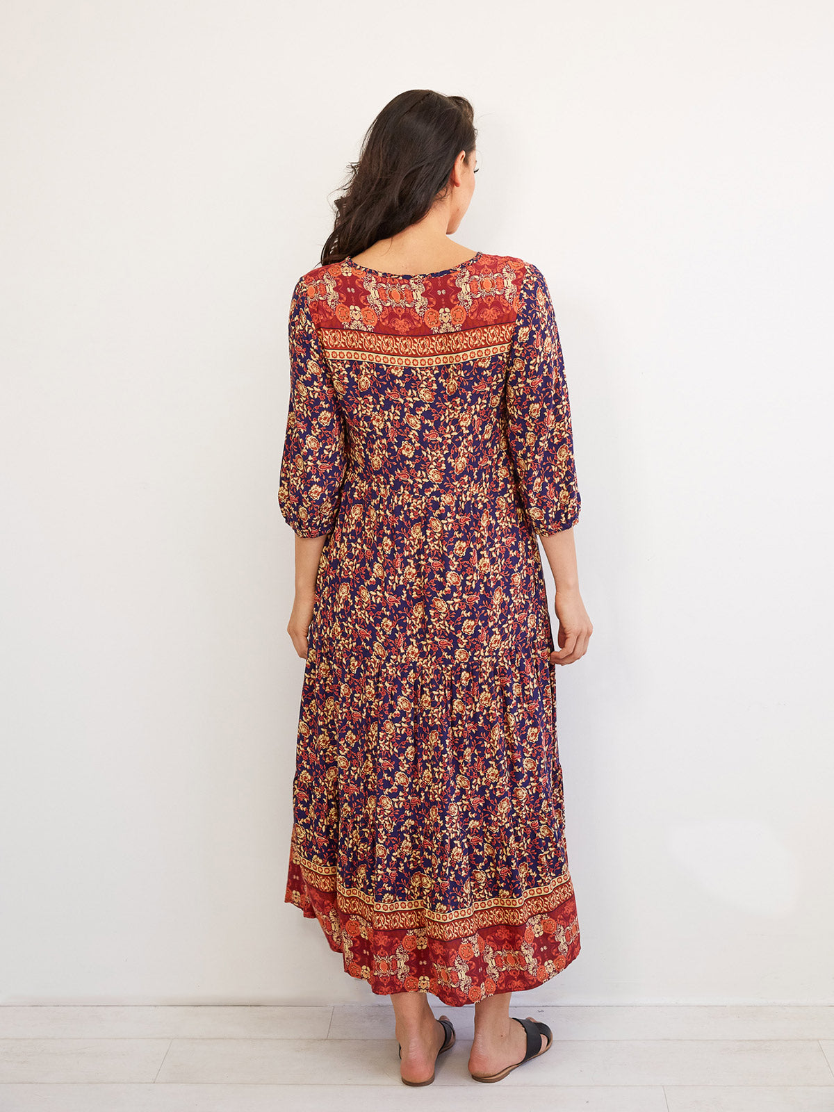 HACIENDA DREAMING FLORAL DRESS