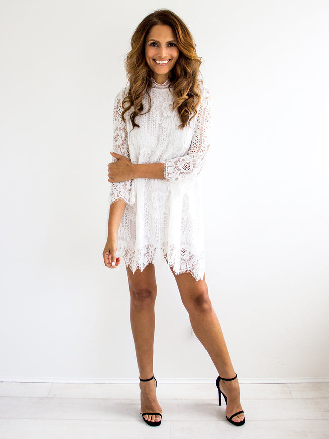 HEAT OF THE NIGHT LACE DRESS