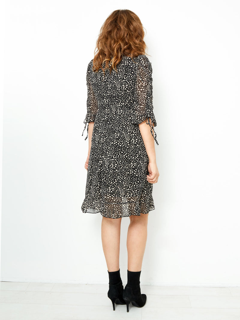 HEAVENLY MUSE PRINTED DRESS