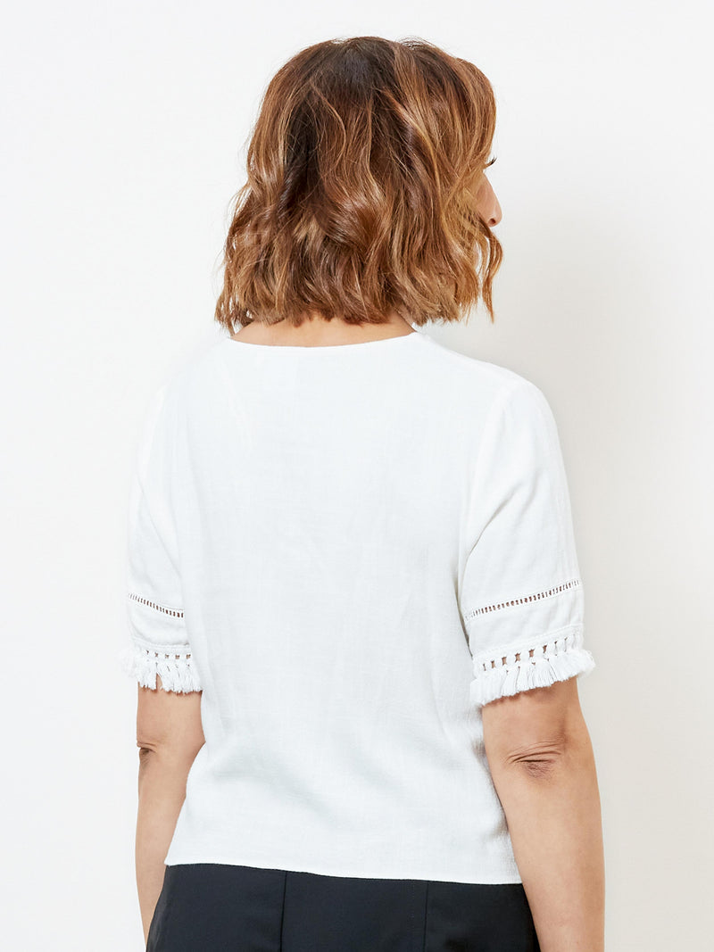 HERE & NOW CREAM TOP