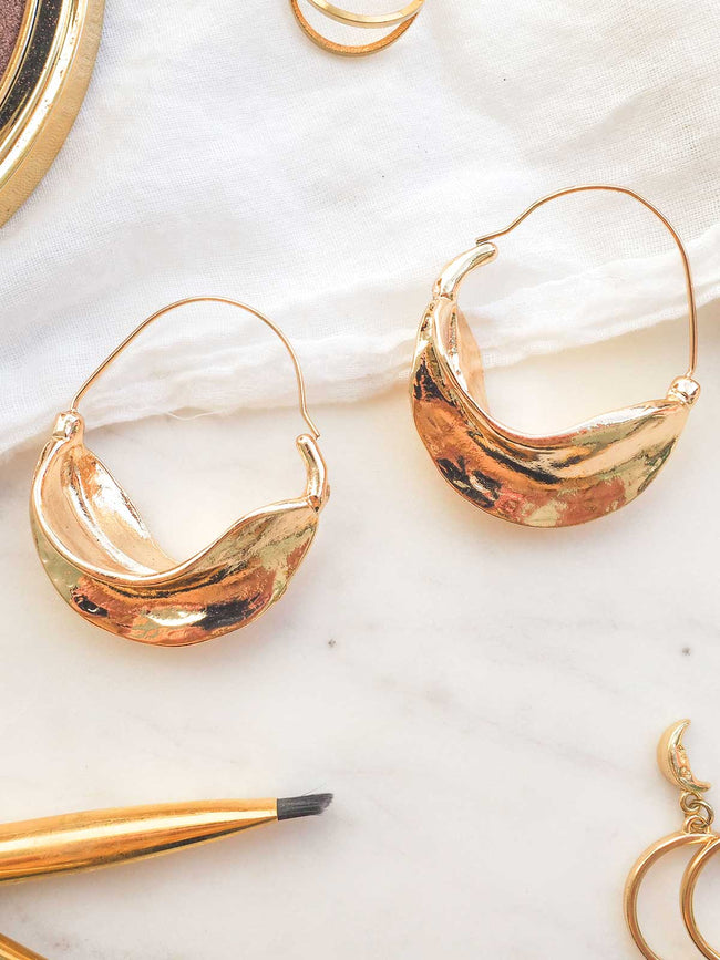 NIGHTS IN NEW YORK EARRINGS - GOLD
