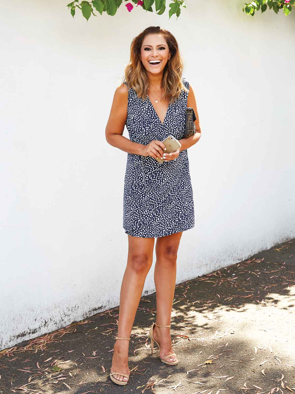 FREE SPIRIT WRAP DRESS