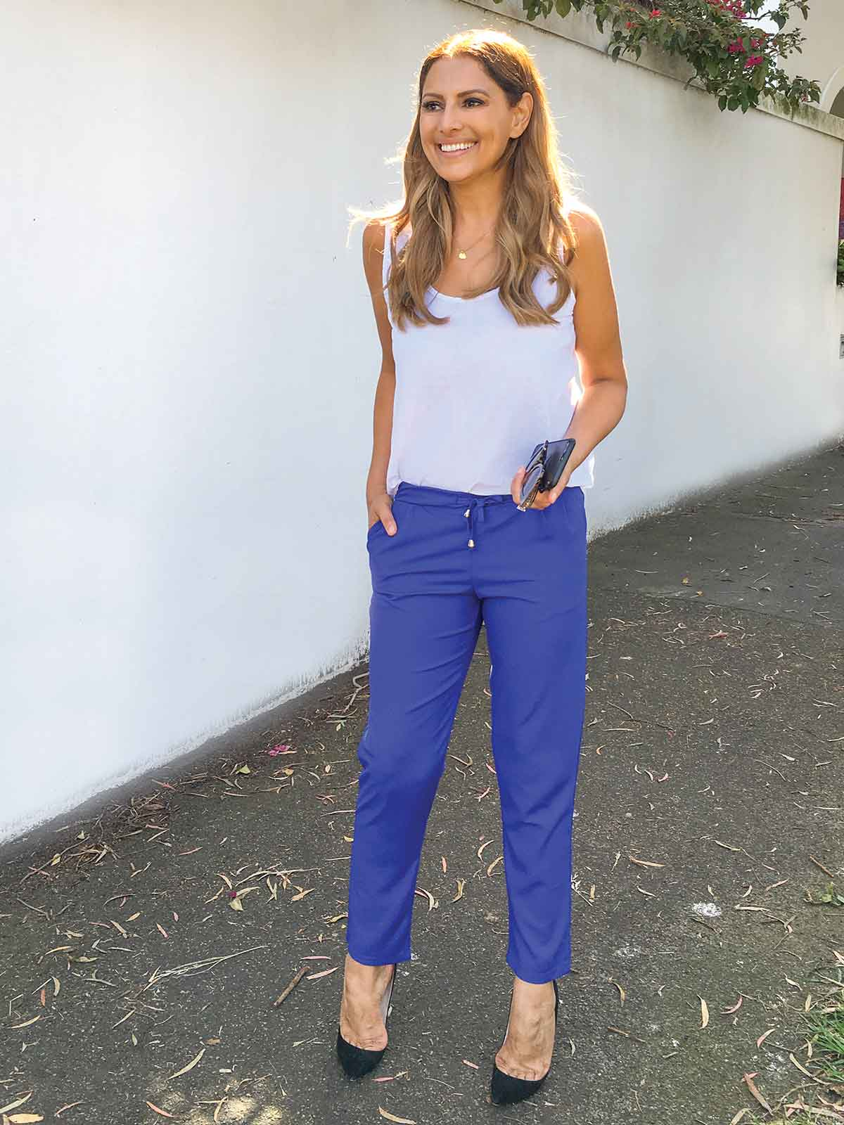 BEAUTIFUL DAY ROYAL BLUE PANT
