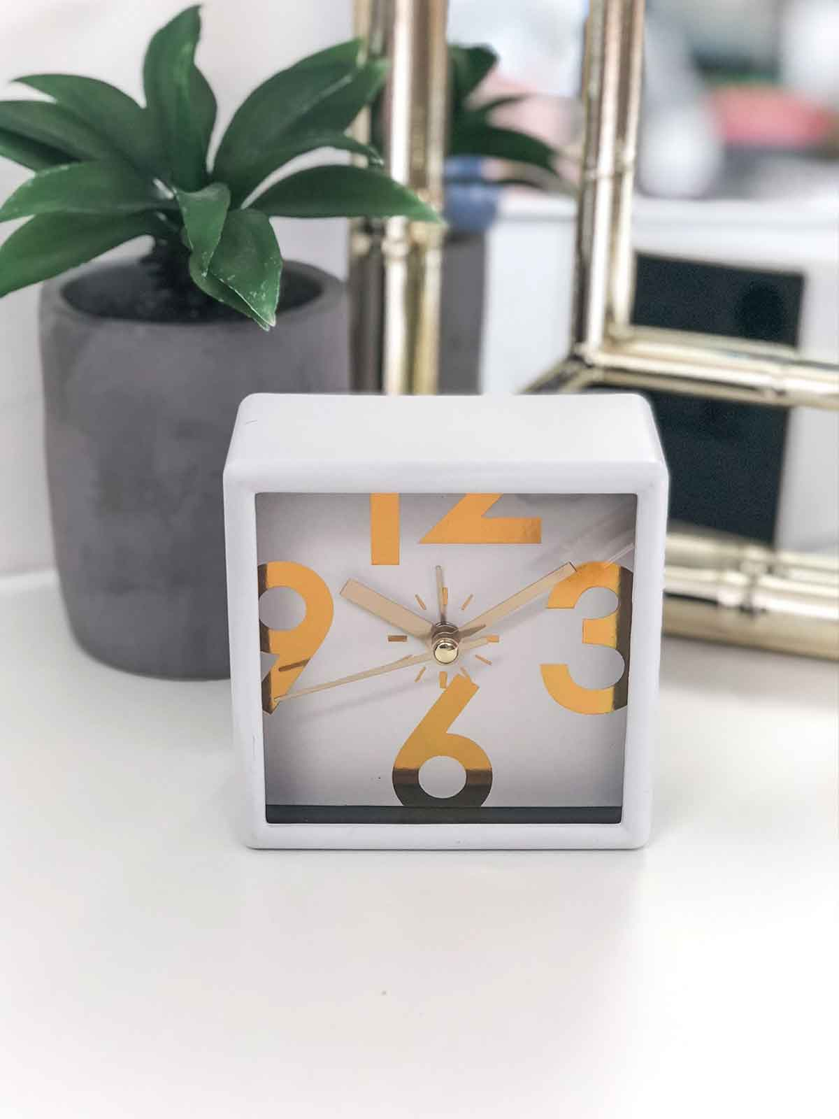 ONE MORE TIME MANTLE CLOCK