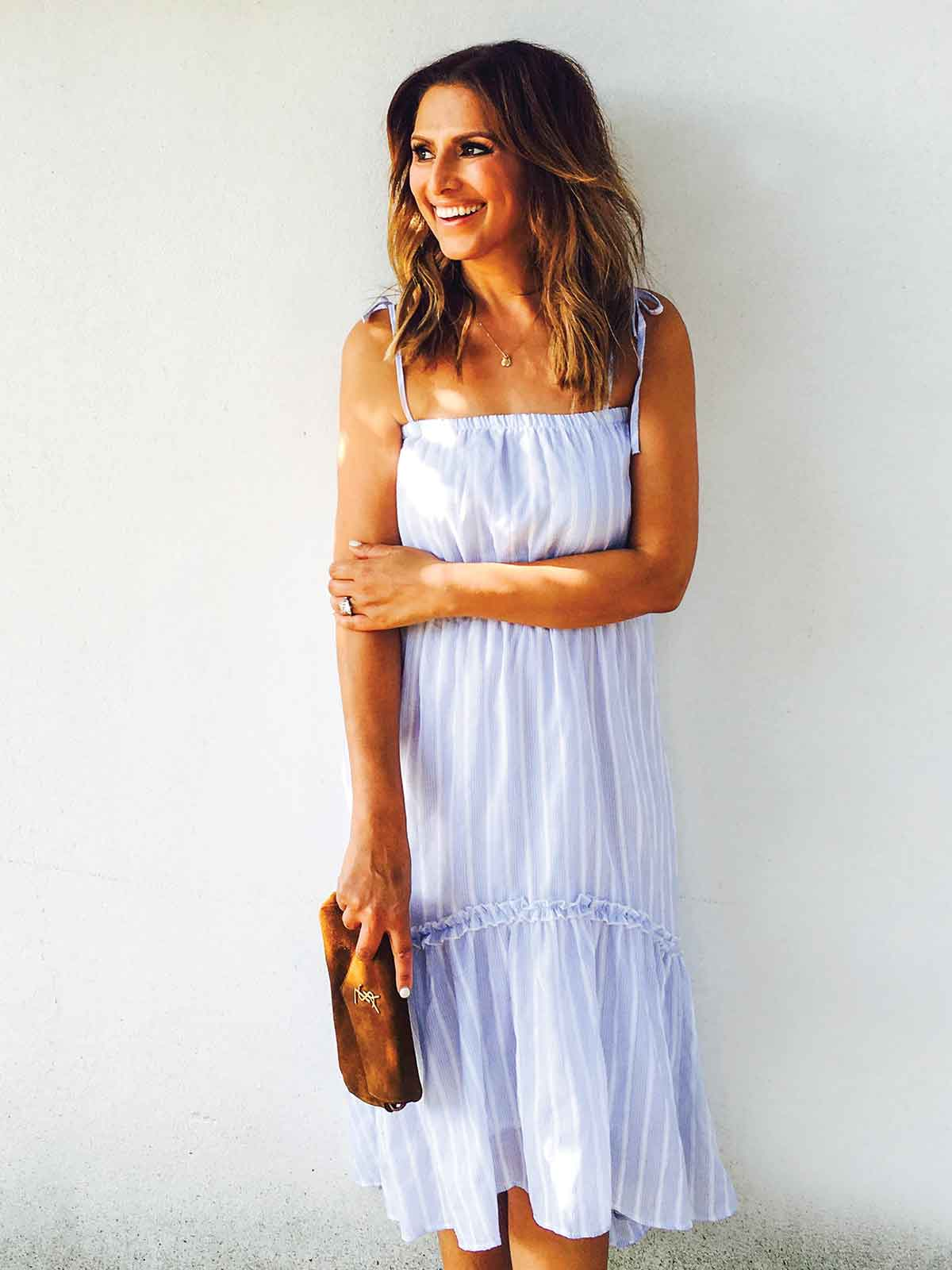 SORRENTO SUN STRIPE DRESS