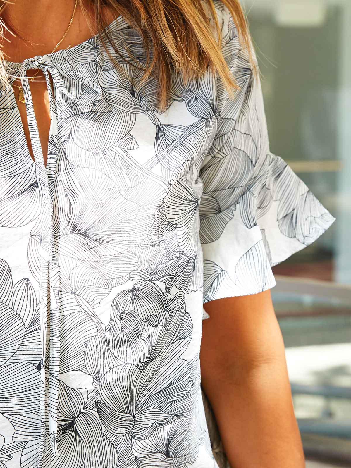 THE DOWNTOWN BLOUSE