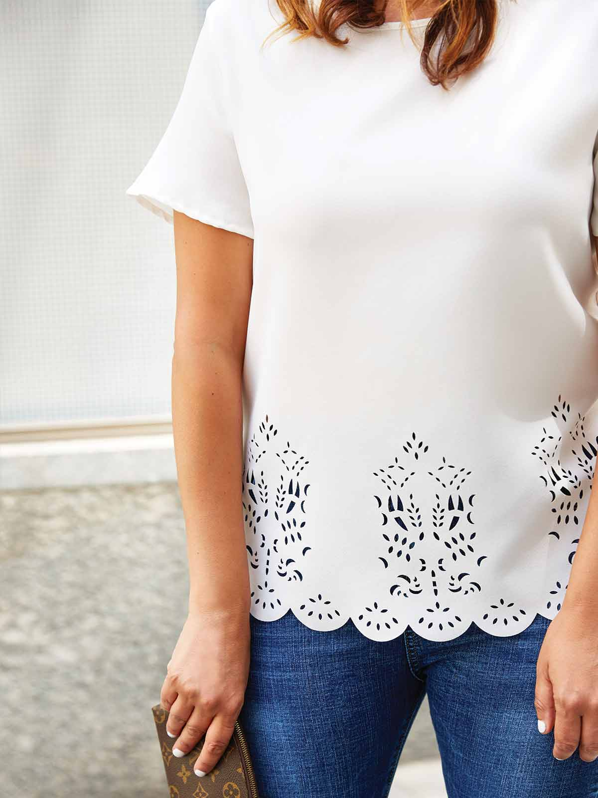 NEW BEGINNINGS LASER CUT TOP