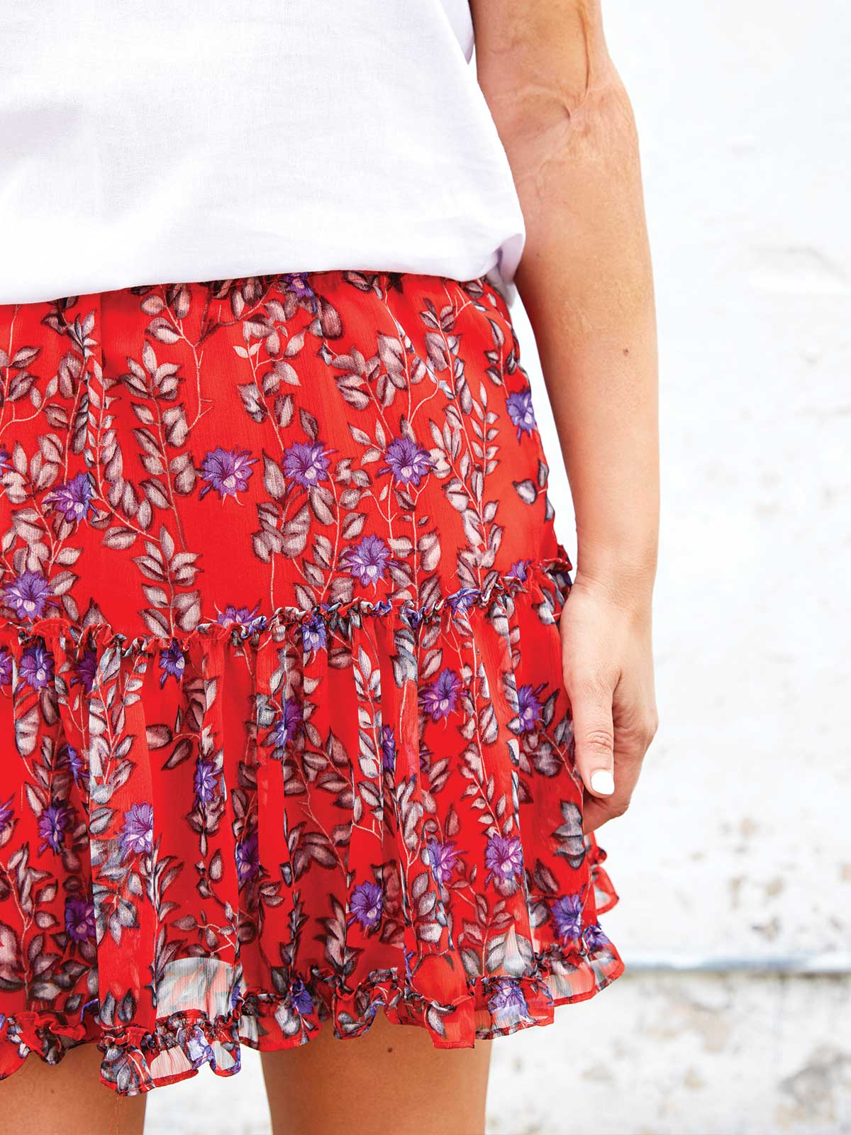 FLORAL PARADISE SKIRT