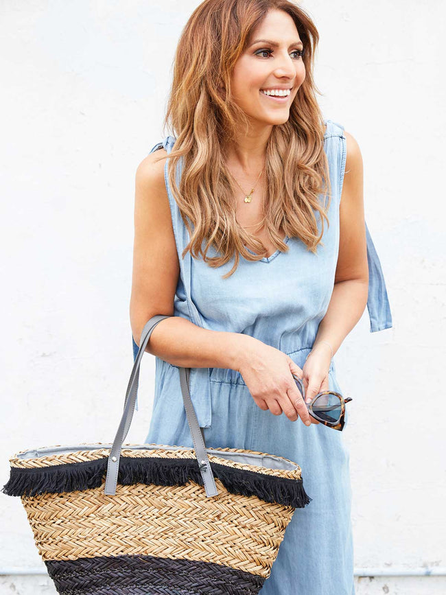 BOHO BABE DENIM JUMPSUIT