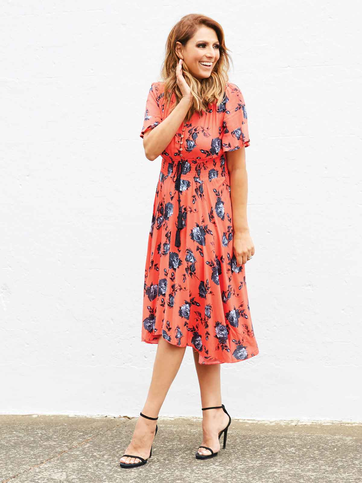 PERFECT DAYS FLORAL DRESS