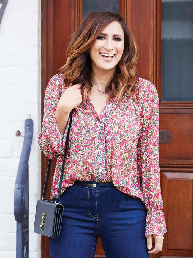 LOVE YOU MORE FLORAL BOHO BLOUSE