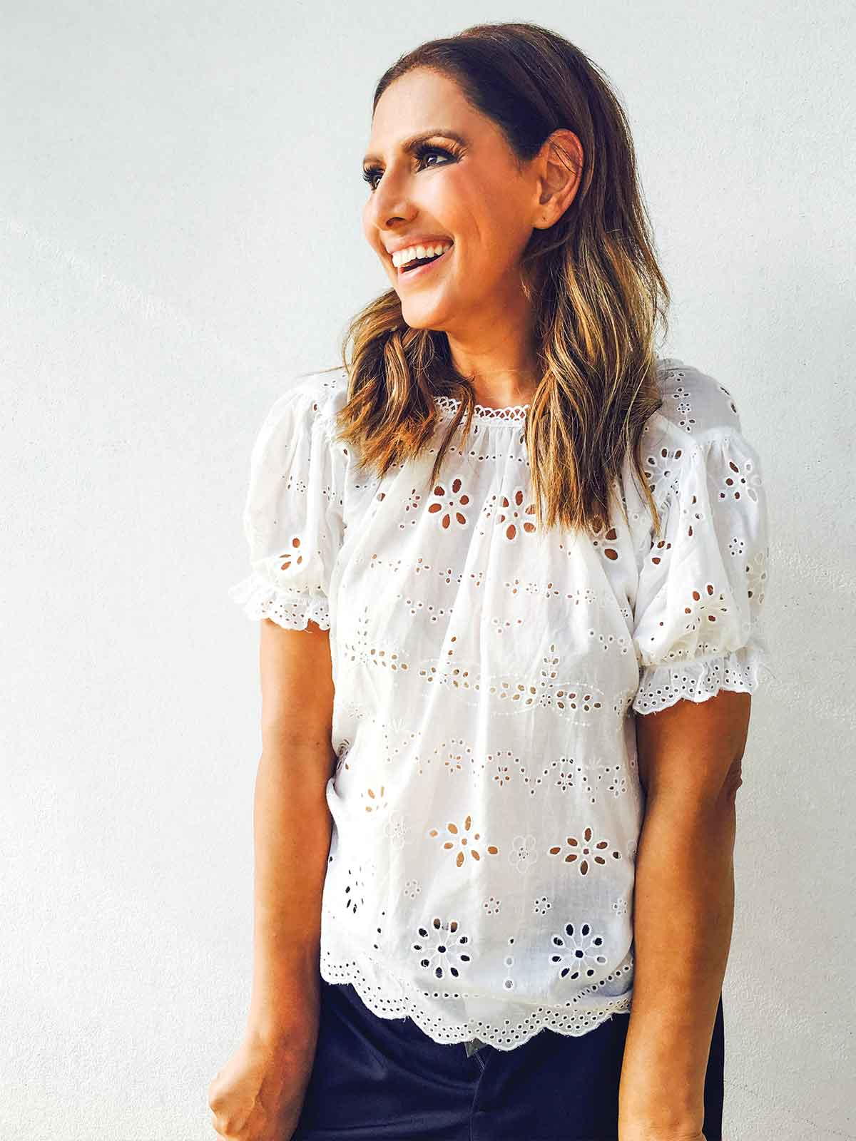 THE PRAIRIE BRODERIE TOP
