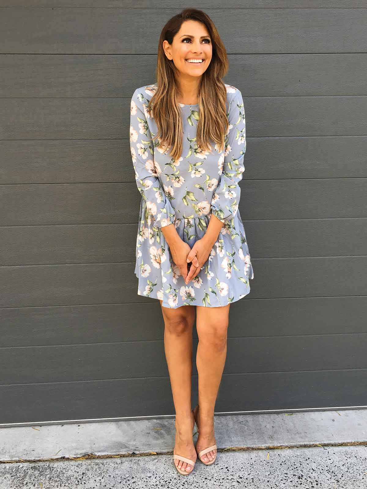MUST BE LOVE FLORAL DRESS