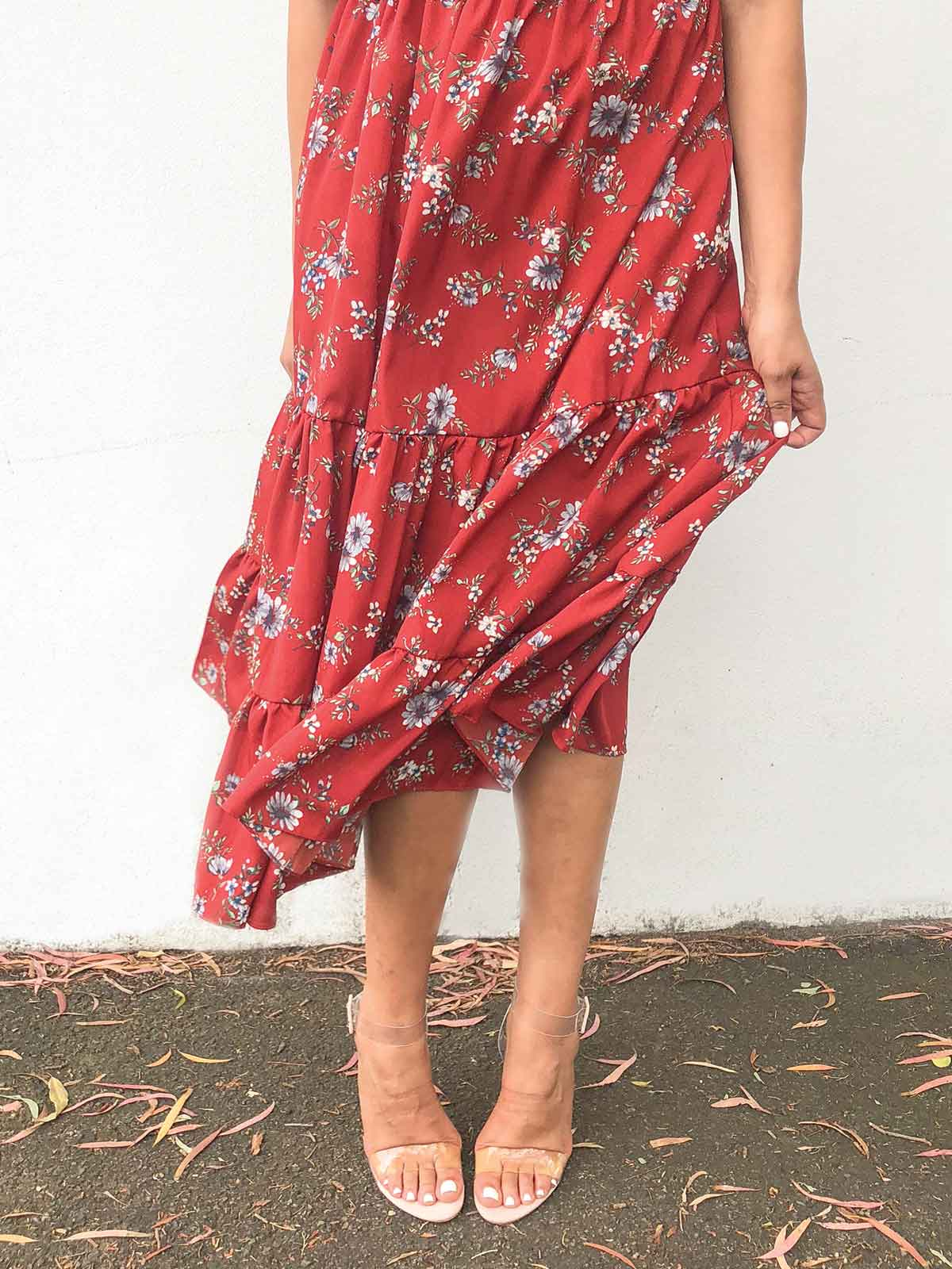 PENNY LANE FLORAL DRESS