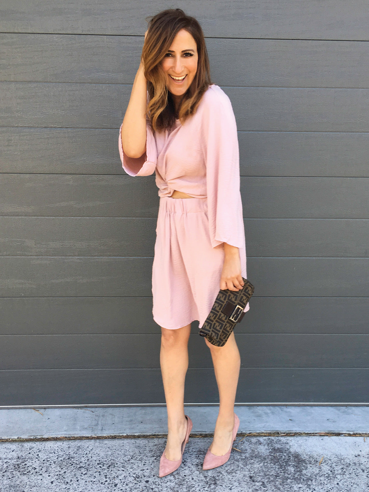 READY FOR LOVE BLUSH DRESS