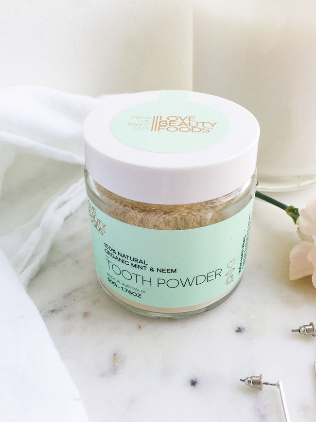 TOOTH POWDER- ORGANIC MINT AND NEEM