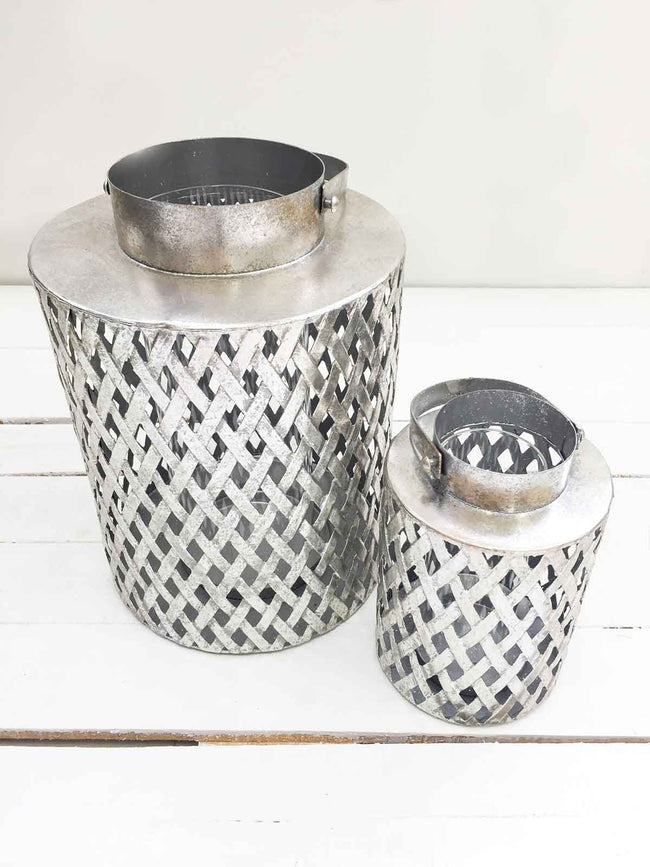 AFTER DARK SILVER LANTERNS